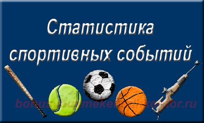 statistika sport - Спорт статистика